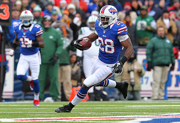 C.J. Spiller was a bright spot for the Bills in 2012 (USA Today Sports Images)