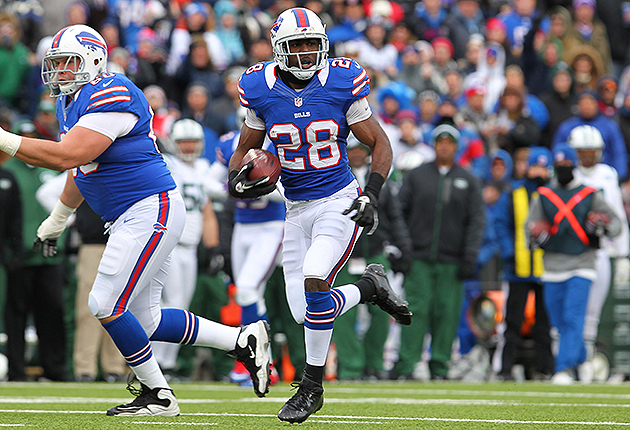 C.J. Spiller is a bargain for the Bills (USA Today Sports Images)
