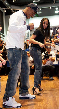 One-on-one Salsa lessons were included! (Craig Warga/New York Daily News)