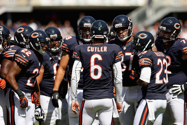 Jay Cutler and the Chicago Bears have a different plan this season. (Getty Images)