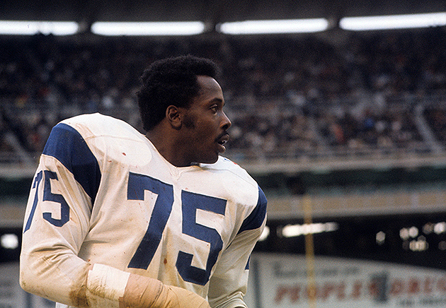 The NFL named an new award after the late Deacon Jones (USA Today Sports Images)