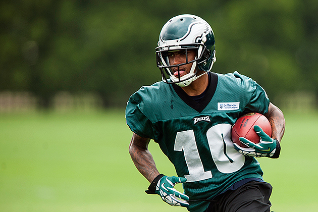 DeSean Jackson is focused on 2013 (USA Today Sports Images)