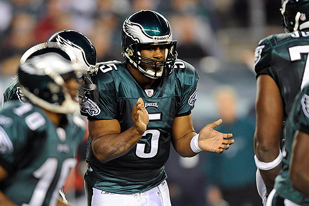 Donovan McNabb will retire with the Eagles (USA Today Sports Images)