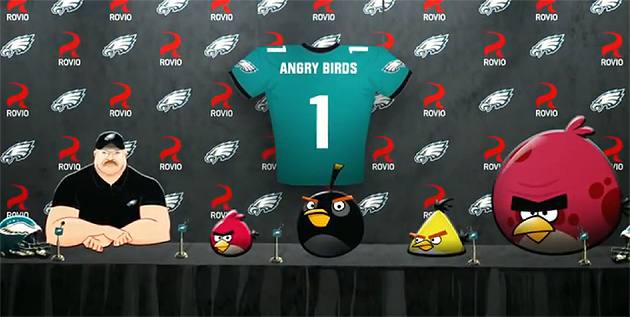 Andy Reid announces his new roster moves. (Philadelphia Eagles)