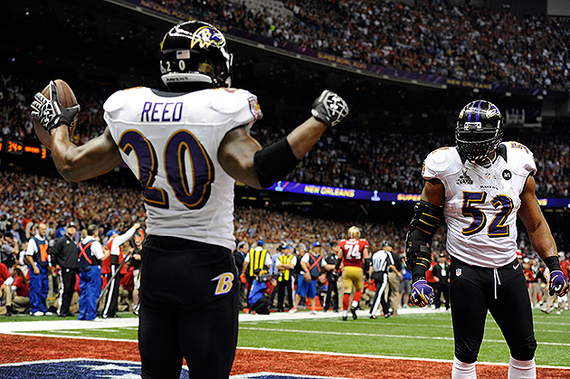 Both Ed Reed and Ray Lewis may depart this offseason (USA Today Sports Images)