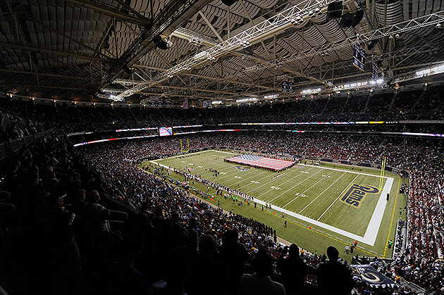 The CVC rejected $700M in upgrades to the Edward Jones Dome (USA Today Sports Images)