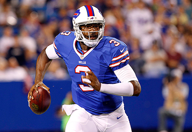 Bills QB E.J. Manuel will miss the rest of the preseason (USA Today Sports Images)