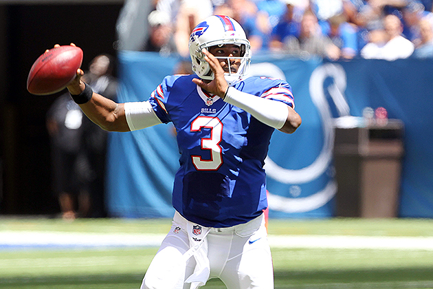 E.J. Manuel played well on Friday night (USA Today Sports Images)
