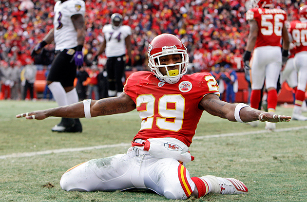 Eric Berry, seen here in January, 2011, is ready for the NFL again. (AP)