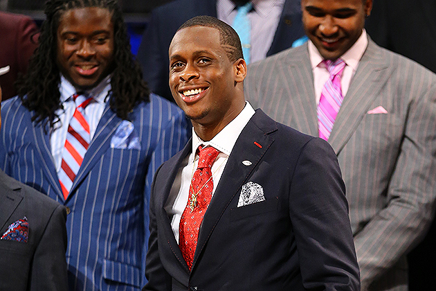 Geno Smith will return to Radio City Music Hall for Day Two (Getty Images)