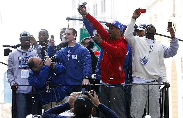 Science agrees -- the Giants have reason to celebrate. (Getty Images)