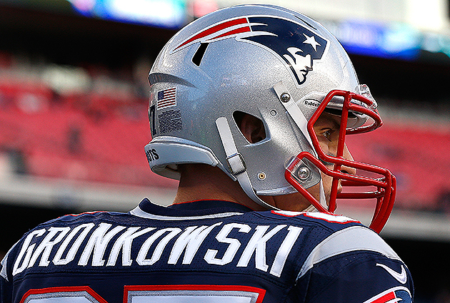 Rob Gronkowski would be okay with a gay teammate (Getty Images)