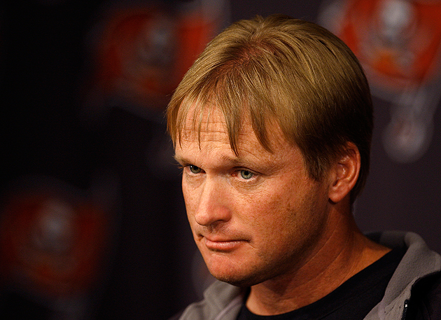 Jon Gruden might be ready to scratch that itch. (AP)