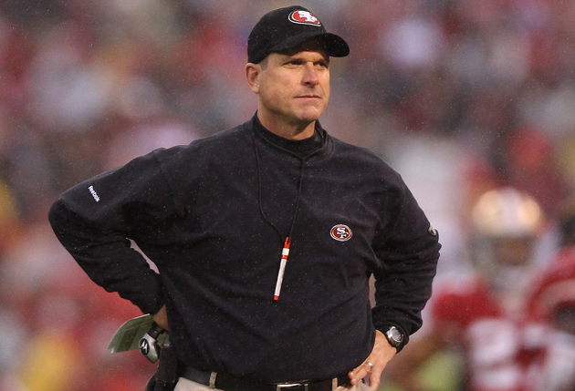 Jim Harbaugh -- man with a plan? (Getty Images)