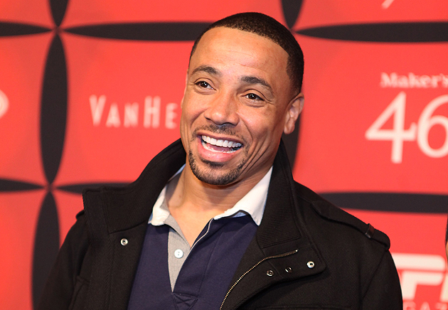 Rodney Harrison, looking suspiciously like someone at a ... party? (Getty Images)