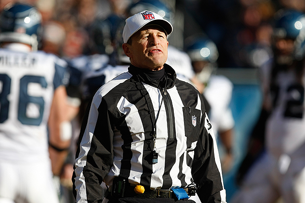 It appears that Ed Hochuli and his friends will be back very soon. (Getty Images)