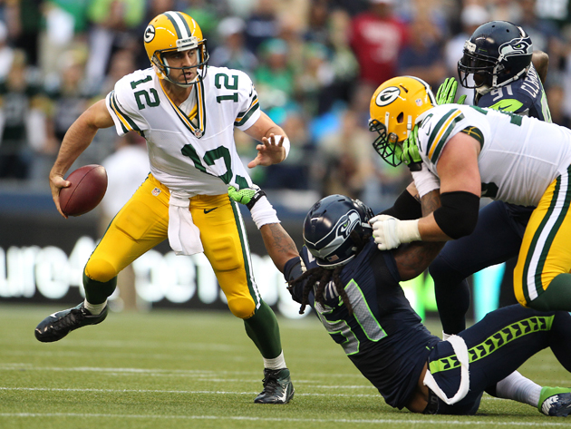 Leverage allows the Seahawks to do what they do against opposing offenses. (Getty Images)