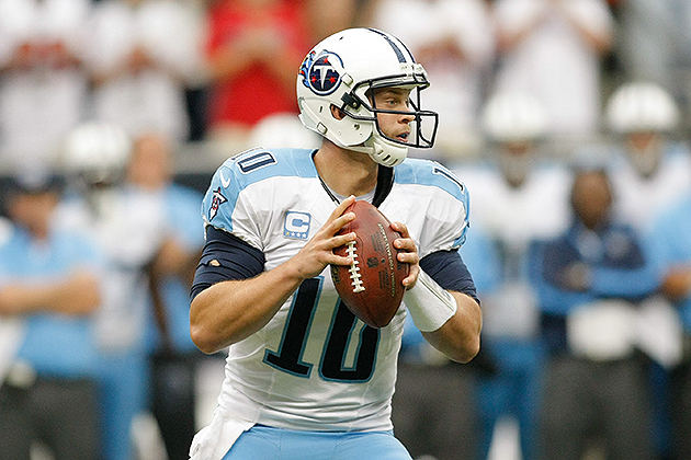 Jake Locker is coming off shoulder surgery (USA Today Sports Images)