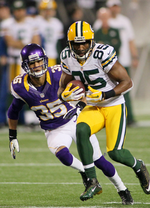 The Vikings will not have to deal with guy anymore -- at least, as an opponent. (Getty Images)
