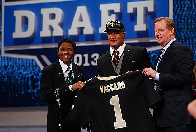 Kenny Vaccaro has signed his first NFL contract (USA Today Sports Images)