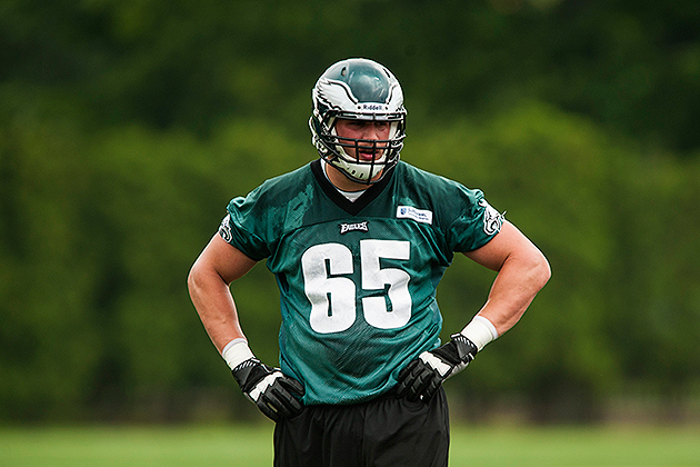Lane Johnson agreed to terms on Saturday night (USA Today Sports Images)