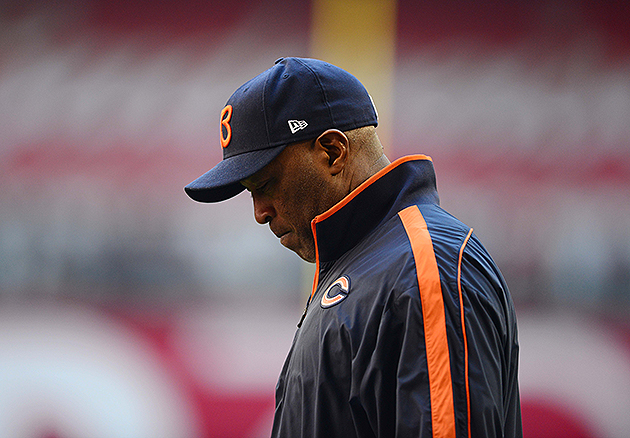 Lovie Smith was a surprise firing on Monday (USA Today Sports Images)