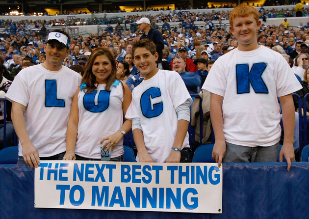 Colts fans can only hope that this is the case. (Getty Images)