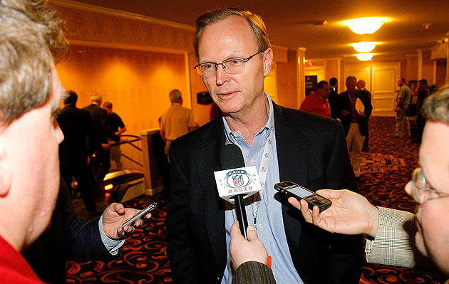 John Mara, flexing his muscles at the 2011 owners meetings. (Getty Images)