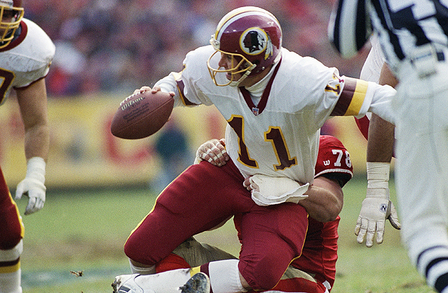 Redskins quarterback Mark Rypien in 1993. (AP)