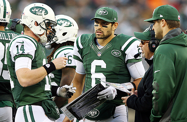 Mark Sanchez was benched on Sunday (Getty Images)