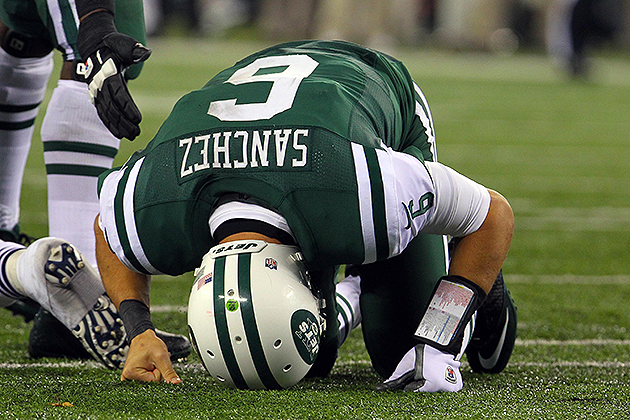 Mark Sanchez could be released this offseason (USA Today Sports Images)