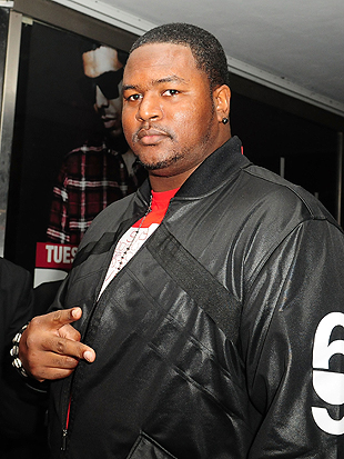 Bryant McKinnie at a Miami after-party in February, 2012. (Getty Images)