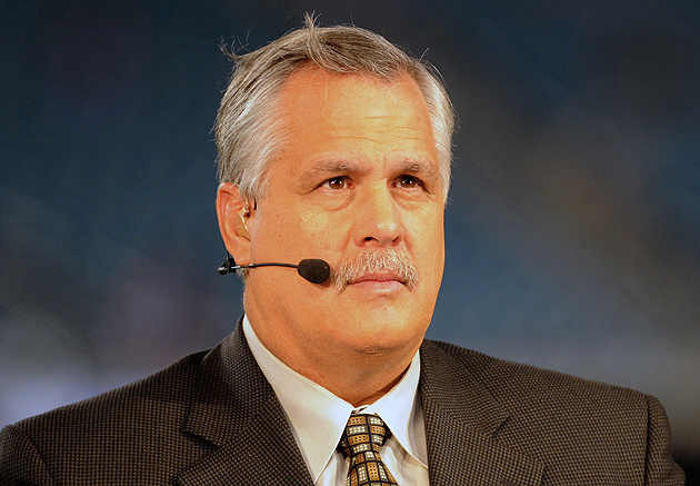 What is Matt Millen thinking right now? Your guess is as good as ours. (Getty Images)