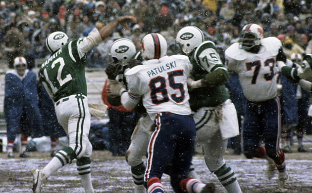 It was always tough sledding when playing the Bills. (Getty Images)