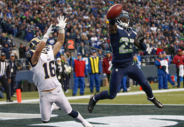Marcus Trufant has played in the NFL since little brother Desmond was 13. (Getty Images)