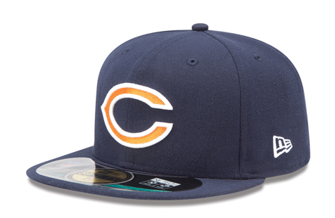 The new Chicago Bears sideline cap. (New Era)