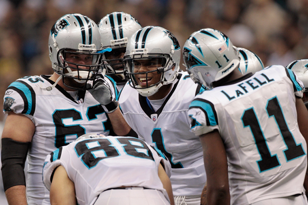 Cam Newton wasn't just great in 2011 -- he made everyone around him much, much better. (Getty)