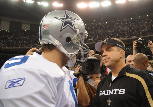 Payton has a great history of quarterback development, as Tony Romo would tell you. (Getty Images)