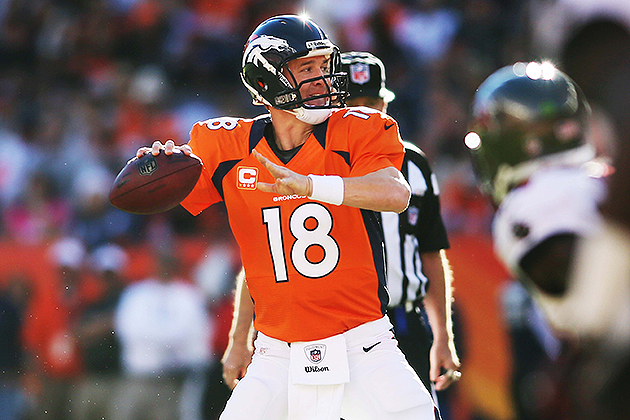 Peyton Manning's cap number decreased in renegotiated contract (USA Today Sports Images)