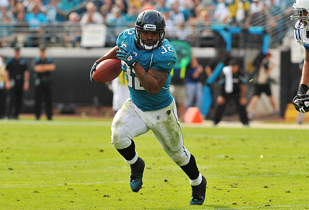 Wanna see the Jacksonville Jaguars' 2011 offense? This is pretty much it. (Getty Images)