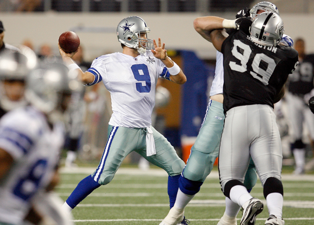 The Cowboys and Raiders are hoping for better things in 2012. (Getty Images)
