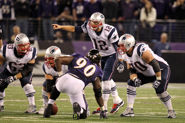 The Ravens refuse to play afraid against Tom Brady. (USAT Sports Images)