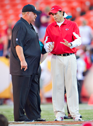 One of these guys might be the Cardinals' new head coach. We're just not sure which one. (Getty Images)