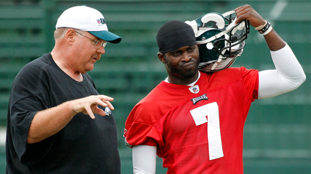 Andy Reid and Michael Vick have been put on notice. (AP)
