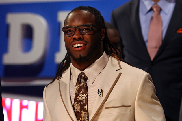 Cleveland Browns rookie Trent Richardson would have no problem with the concept. (Getty Images)
