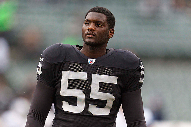 Rolando McClain's tenure in Oakland is over (USA Today Sports Images)