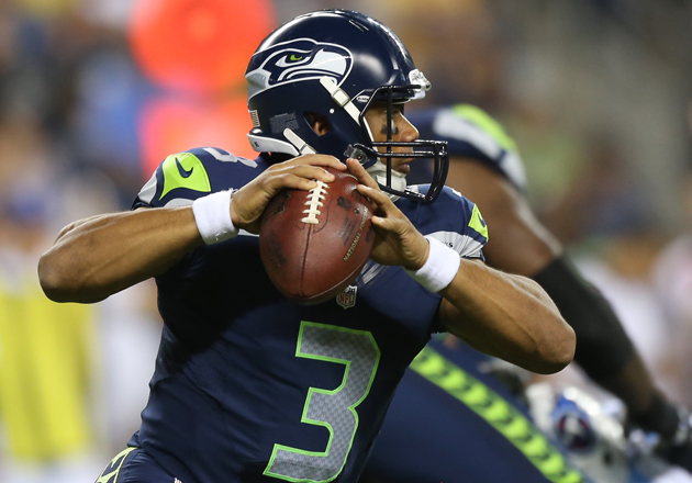 Russell Wilson is used to uphill battles. (Getty Images)