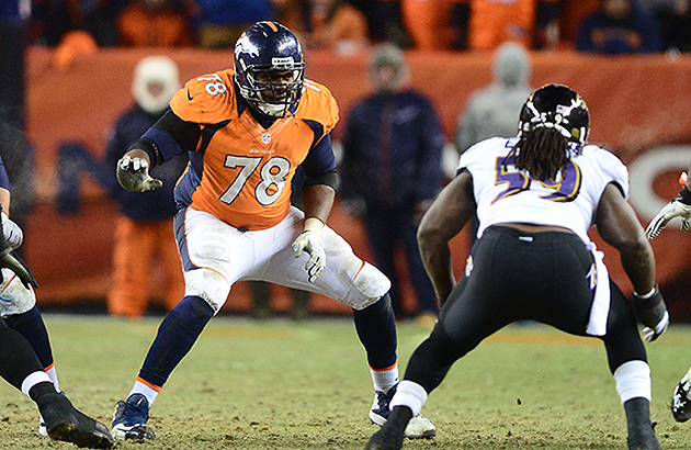 Ryan Clady and the Broncos resumed contract talks (USA Today Sports Images)