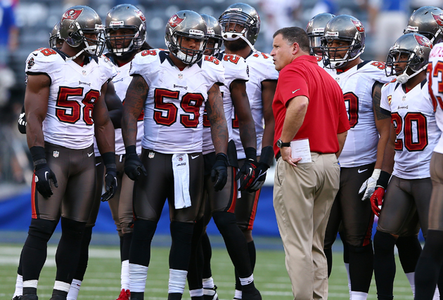 Like it or not, Greg Schiano's going to do things his way. (Getty Images)