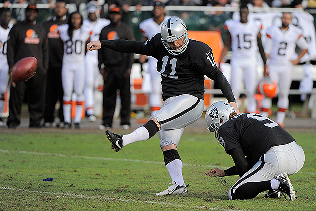 Sebastian Janikowski signed a four-year extension (USA Today Sports Images)